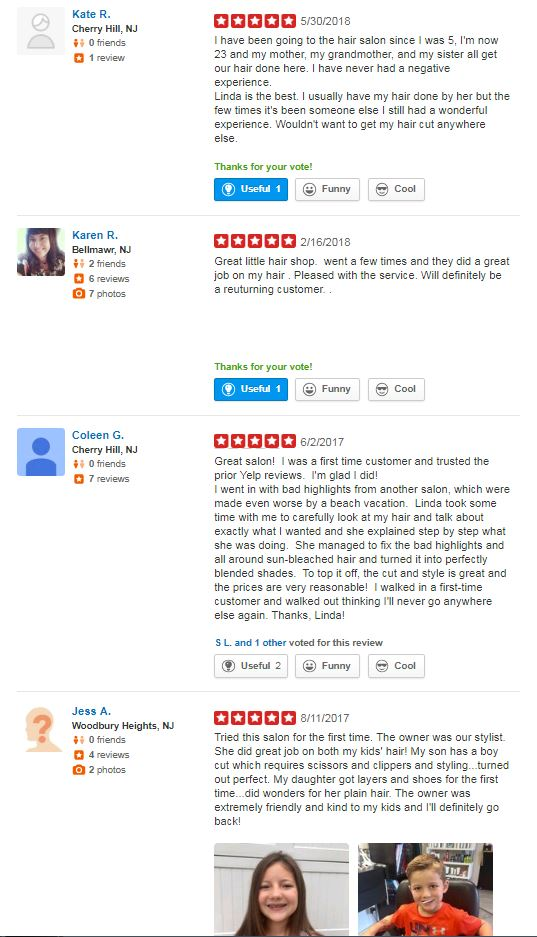 Reviews for Hair Suite-Quality hair Cuts, Styling, and Coloring-Cherry Hill